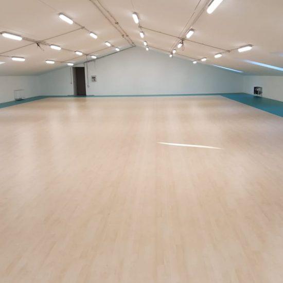 pavimento sportivo palestra tarkett